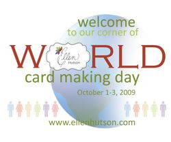 World Card Making Day Banner People