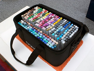 All marker case