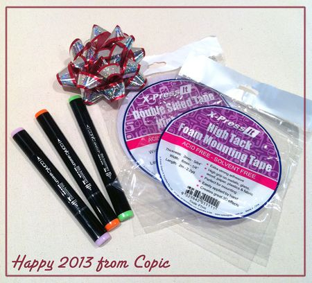 2013 giveaway