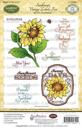 CL04820_Sunflowers_Vintage_Labels_Five_LG