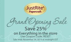 JustRite_StamperNews_2013_NOVEMBERgrandOpeningSaleICON