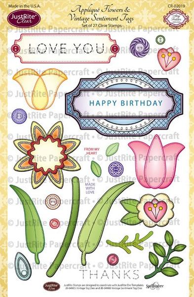 CR-02019_Applique_Flowers___Vintage_Sentiment_Tags_LG_grande