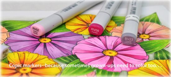 Copic Flowers Banner2015_Deb Olson