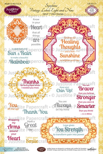 CR02117_Sunshine_Vintage_Labels_Eight_and_Nine_Frames_Clear_Stamps