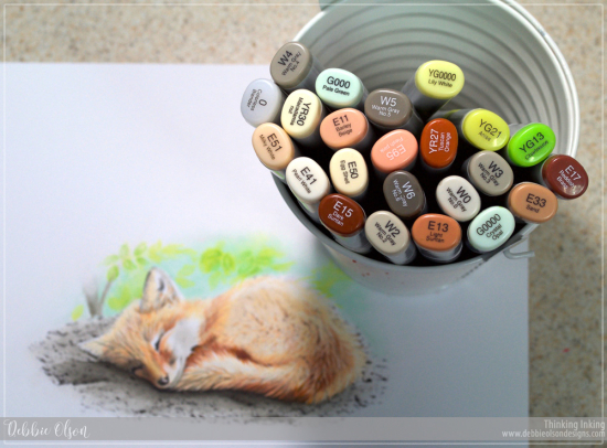 Copic_Fox1c_Deb-Olson