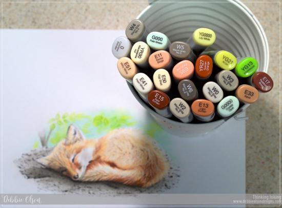 Copic_Fox1c_Deb-Olson