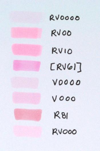 Pink-Violets Comparison_Deb Olson