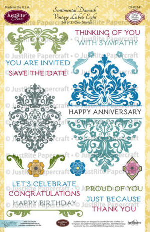 CR02141_Sentimental_Damask_Vintage_Labels_Eight_Clear_Stamps