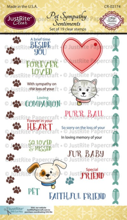 CR02174_Pet_Sympathy_Sentiments_Clear_Stamps