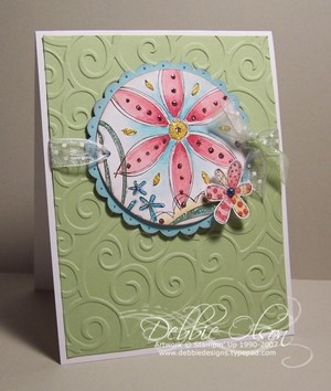 Thinking Inking :  indie crafts card handcrafted